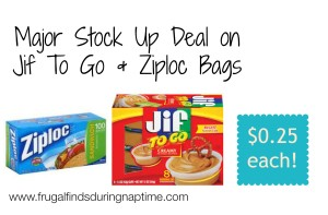 deal on Jif to Go