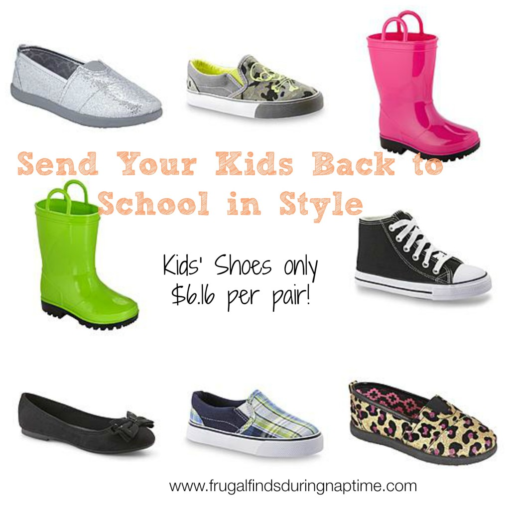 Kmart:: Kids' Shoes Only $6.16 Per Pair