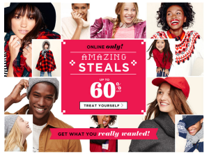 old navy after christmas sale