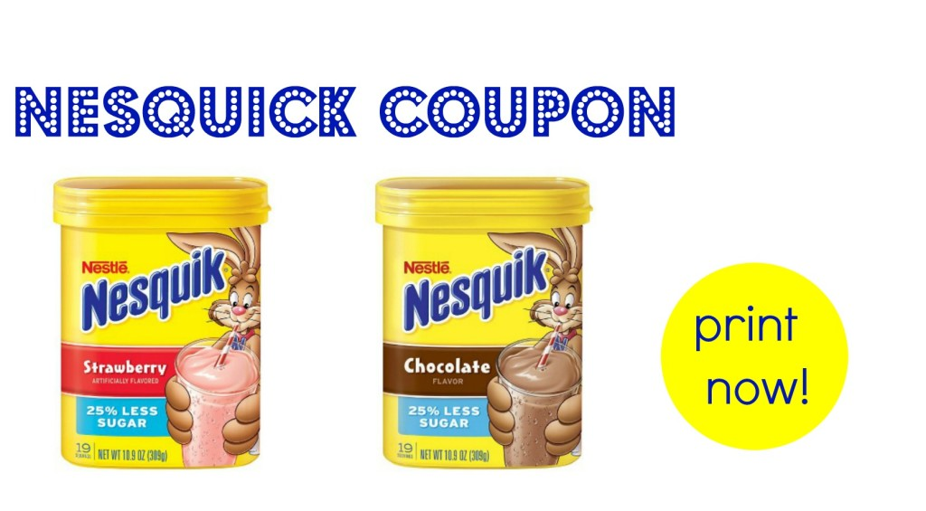 nesquick coupon