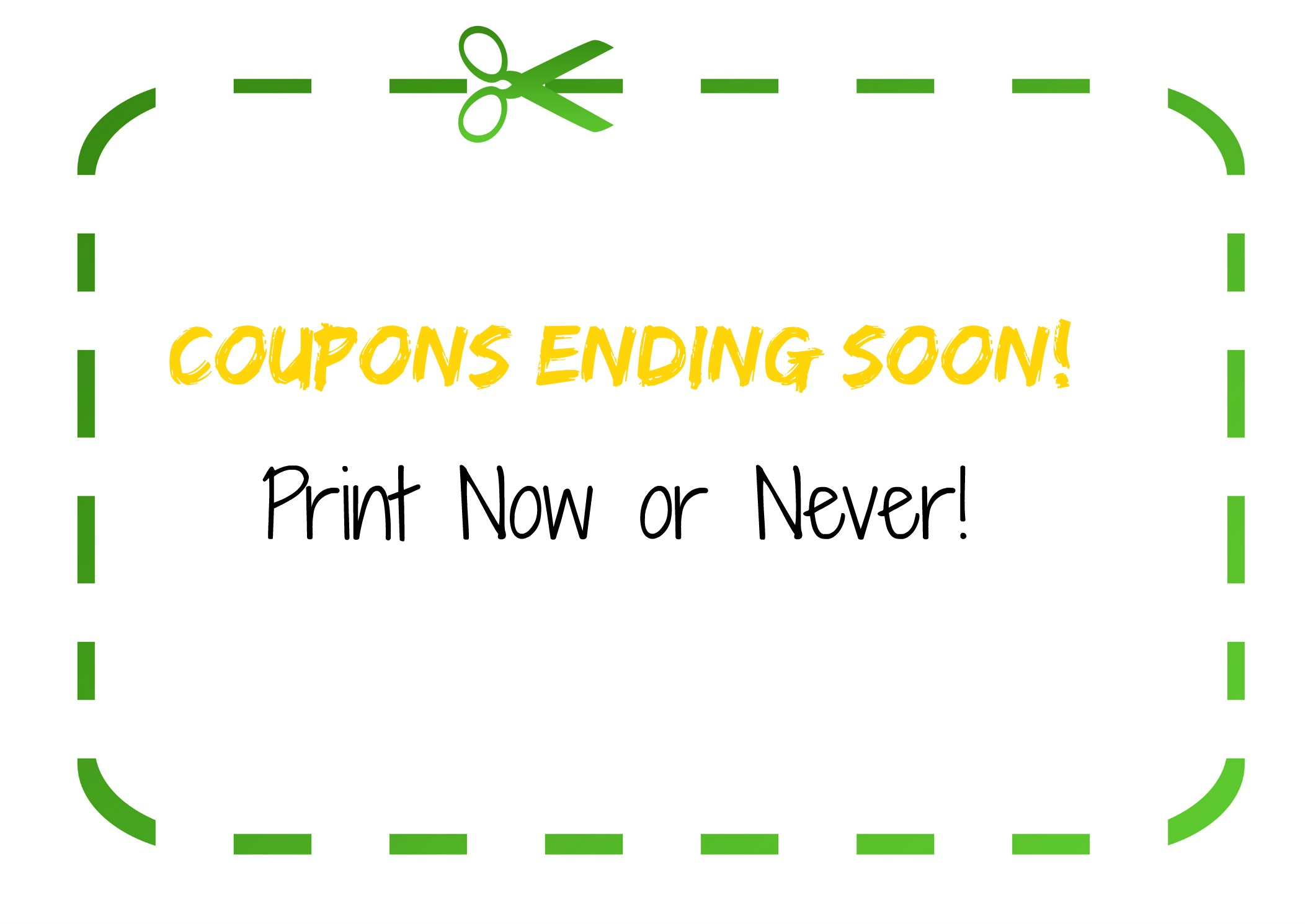 coupon round up list of coupons ending soon frugal finds blank green eco coupon scissors isolated on white background