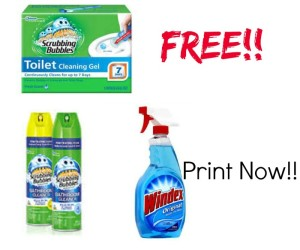 free cleaning products at CVS
