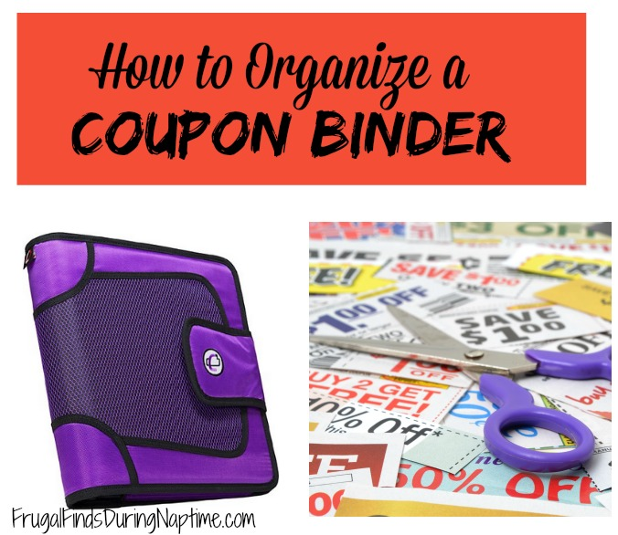 Want to save more money at the stores, but don't know where to start?? Organizing your coupons is key to saving more money.