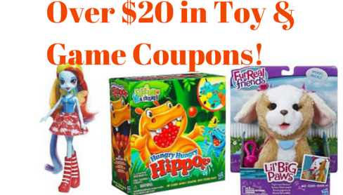 toy and game coupons